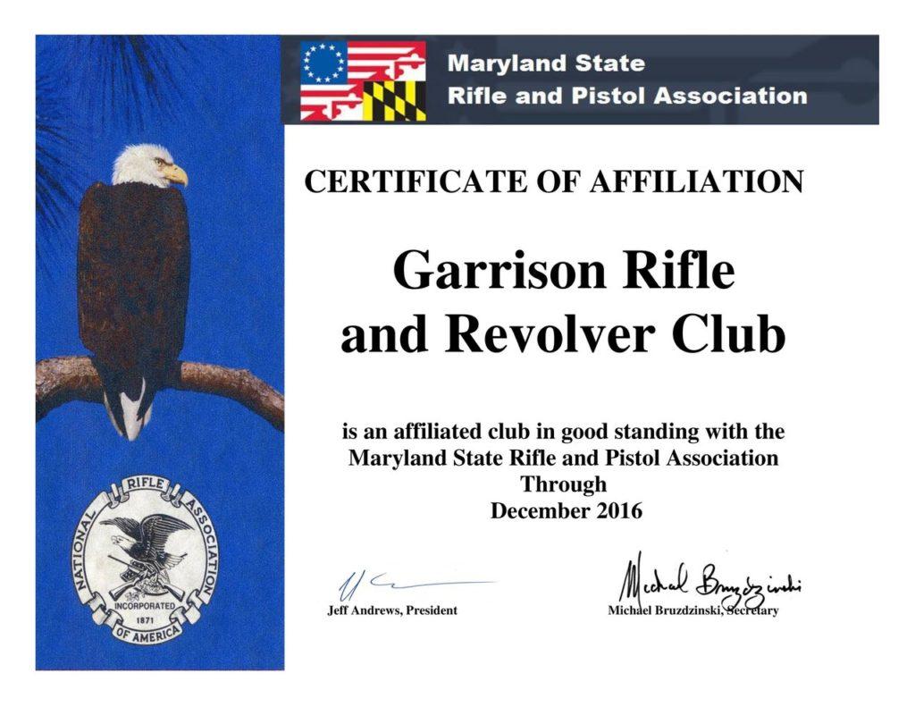 MSRPA - Garrison Affiliation