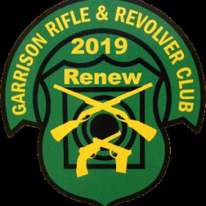 Renew 2019 Garrison membership